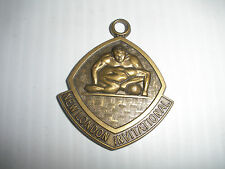VINTAGE MEDAL NEW LONDON INVITATION WRESTLING  MADE BY JOSTENS