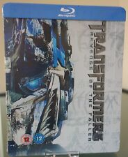 Transformers - Revenge Of The Fallen - Steelbook - Blu Ray UK Exclusive NEW ✔