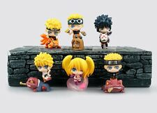 6pcs Pieces Naruto Shippuden Petit Chara Land Toy Figure Doll Series 4