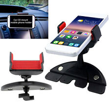 Car Auto CD Slot Mount Cradle Holder Stand for Mobile Smart Cell Phones