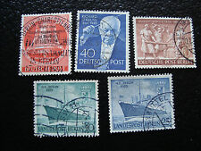 ALLEMAGNE BERLIN - timbre - yvert et tellier n° 108 a 112 obl (A1)stamp germany