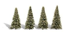 Woodland Classics TR3569 Trees 'Blue Needle' (4 Pk)  N,HO,O Scale Free T48 Post