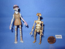 """Star Wars 1999 ODY MANDRELL and OTOGA 22 PIT DROID  3.75""""  Figure COMPLETE Fig#2"""