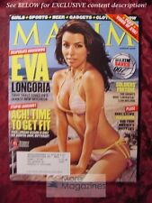 MAXIM #85 January 2005 EVA LONGORIA POPPY MONTGOMERY JENNIFER ELLISON