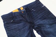 NEU - Hugo Boss Orange 24 Amsterdam - W34 L34 - Dark Denim -  Jeans  34/34