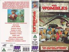 THE WOMBLES TEN CLASSIC EPISODES   AND OTHER STORIES VIDEO VHS A RARE FIND