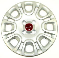 "Fiat Panda 2012 on 15"" Wheel Trim Single x1 Red Centre New Genuine 735553850"