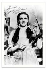 JUDY GARLAND THE WIZARD OF OZ AUTOGRAPH SIGNED PHOTO PRINT