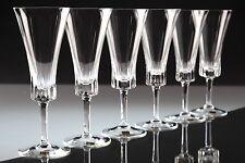 6 Vintage Kristall Sektgläser Sektkelch Gläser Eisch Carina ~ 50er 60er Jahre KA