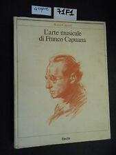 Cagnoli L'ARTE MUSICALE DI FRANCO CAPUANA (71 F 1)
