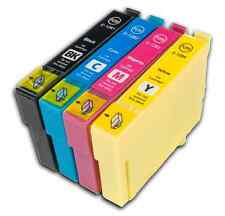 4 T1285 non-OEM Ink Cartridges For Epson T1281-4 Stylus S22 SX125 SX130 SX230