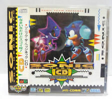 SONIC THE HEDGEHOG CD - SEGA MEGA CD NTSC JAPAN VERSION