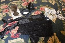 Lot of Flapper Halloween adult womens costume items Leg Avenue, shorties, etc