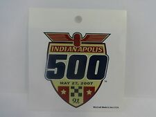 2007 Indianapolis 500 Collector Event Decal Stricker Indy500 IndyCar Indy 500