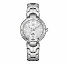 TAG HEUER Link Diamond AUTO Ladies Watch WAT2312.BA0956  - RRP £3650 - BRAND NEW