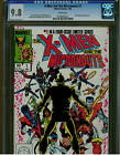 X MEN AND THE MICRONAUTS 1 CGC 9.8 WHITE PAGES 1984 EARLY NEW MUTANTS APPEARANCE