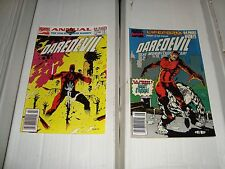 DAREDEVIL Annual #6 & 7 Marvel Comic Book Lot Of 4 From 1990 - 1991 NM Condition