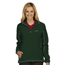 "NWT Oregon Ducks Ladies ""Ice"" Polar Fleece Full Zip Jacket M Green"