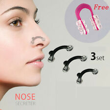 1Set 3Sizes Nose Up Lifting Shaping Clip Clipper Tool +1PC Red Nose Up Shaper