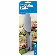 Kitchen Craft KCSANSPREAD Round ended SANDWICH BUTTER SPREADER SPREADING Knife