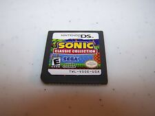 Sonic Classic Collection (Nintendo DS) Lite DSi XL 3DS 2DS Game