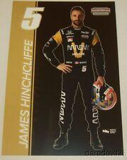 2016 James Hinchcliffe Arrow Honda Dallara Indy Car postcard