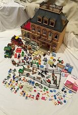 HUGE LOT OF Playmobil 5300 Victorian Mansion Dollhouse 3 Stories with Patio