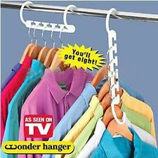 2x Wonder Hanger Clothes Organizer Space Saver (As Seen On TV)