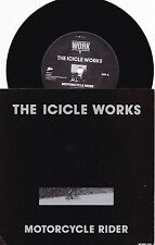 Icicle Works~DUT PS 45 Motorcycle rider NM 1990 Alt Rock Neo Psyche