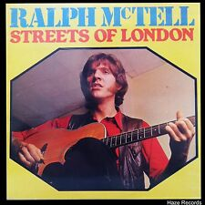 RALPH Mc'TELL Streets Of London LP Australian Pressing Excellent Condition