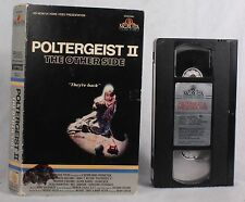 Vintage POLTERGEIST 2 The Other Side VHS HORROR BIG BOX Rare Cult Classic