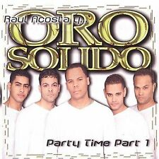 Party Time 2001 Part 1 Oro Solido MUSIC CD