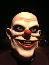 Clowki the Evil Clown Mask 3/4 head Joker Jester Killer Insane Psycho