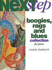 Carol Barratt Next Step Boogies Rags Blues Collection For Piano Music Book