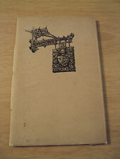 "VTG 1924 ANNIVERSARY Booklet/Guide~""LIBERTY & CO"" Regent St/LONDON UK~Ephemera~"