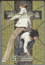 Death Note Shonen Jump Advanced, English,Manga Volume 5 Comic Paperback Book