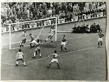 photo press football   World Cup 1958    France-Brazil      221