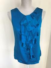 Ted Baker Womens Electric Blue Top Size 2 (10) (43)
