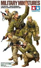 Tamiya 1/35 WWII German Africa Korps Infantry Set # 35314