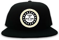 KINGS OF NY CHAIN SNAPBACK 10 A$AP HOOD BLACK AND BY  CASTLES  BLACK