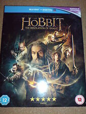 THE HOBBIT - THE DESOLATION OF SMAUG 2 DISC'S - BLU-RAY