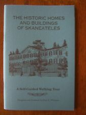 THE HISTORIC HOMES AND BUILDINGS OF SKANEATELES ~ Book ~ Paul K Williams