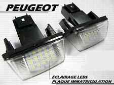 LEDS SMD ECLAIRAGE BLANC PLAQUE IMMATRICULATION PEUGEOT 306 D TD HDi XT GTi S16