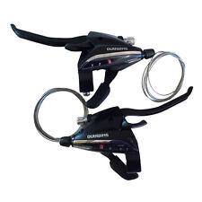 Shimano EF-65 Set L3xR8 Shifter/Brake Lever Combo (24 Speed) Black V Brake