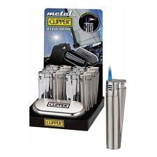 Accendino CLIPPER METAL FIAMMA OSSIDRICA In Metallo Con Scatola Lighter Gift Box