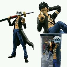 "ONE PIECE/ FIGURA TRAFALGAR LAW 18 CM- VARIABLE ACTION HEROES  7"" IN  BOX"