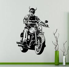 Chopper Bike Vinyl Decal Motorcycle Vinyl Stickers Home Interior Garage Decor 13