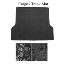 Brand New Semi Custom Black Rubber Cargo Trunk Floor Mats For Ford