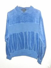 Vintage Mervin's Men's Collection Sweater Pullover Cotton Blend Blue Size XL