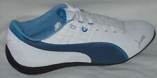 PUMA DRIFT CAT 6 NM WHITE/BLUE SHADOW ATHLETIC SNEAKERS  MEN SHOES SIZE 7